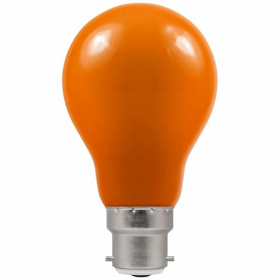 LED GLS Coloured • 1.5W • Amber • BC-B22d 4085