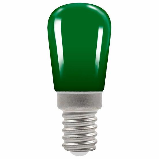 LED Coloured Sign • 1.3W • Green • SES-E14 9080