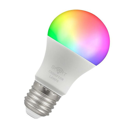 LED Smart GLS Thermal Plastic • Dimmable • 8.5W • RGBW 3000K • ES-E27 12332