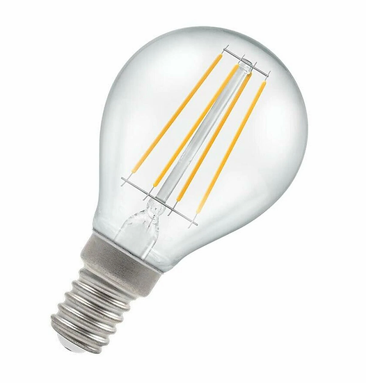 LED Round Filament Clear • Dimmable • 5W • 2700K • SES-E14 7246