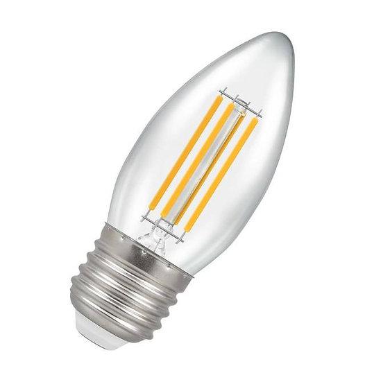 LED Candle Filament Clear 6.5W = 60W 2700K ES-E27 12776