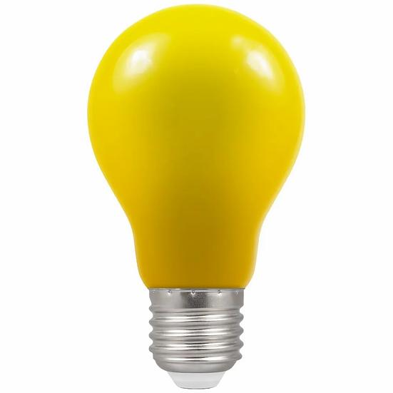 LED GLS Coloured • 1.5W • Yellow • ES-E27 4177