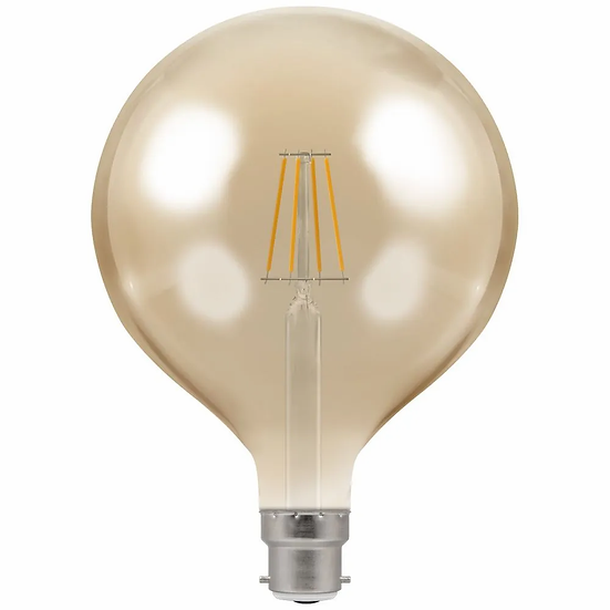 LED Globe G125 Filament Antique • Dimmable • 7.5W • 2200K • BC-B22d 4306