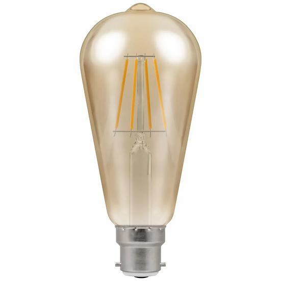 LED ST64 Filament Antique • Dimmable • 7.5W • 2200K • BC-B22d 4245