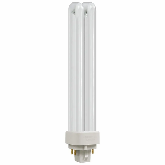 CFL PLC-E Double Turn DE Type • Dimmable • 26W • 4000K • G24q-3 4-Pin
