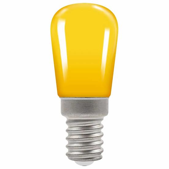 LED Coloured Sign • 1.3W • Yellow • SES-E14 9103