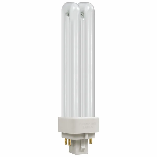 CFL PLC-E Double Turn DE Type • Dimmable • 13W • 4000K • G24q-1 4-Pin