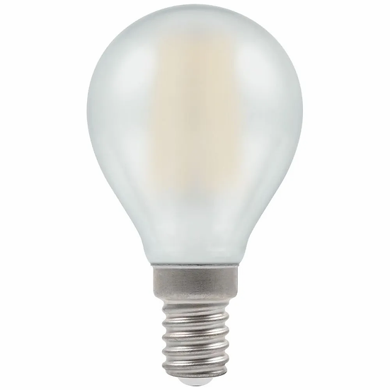 LED Round Filament Pearl • Dimmable • 5W • 2700K • SES-E14 7284