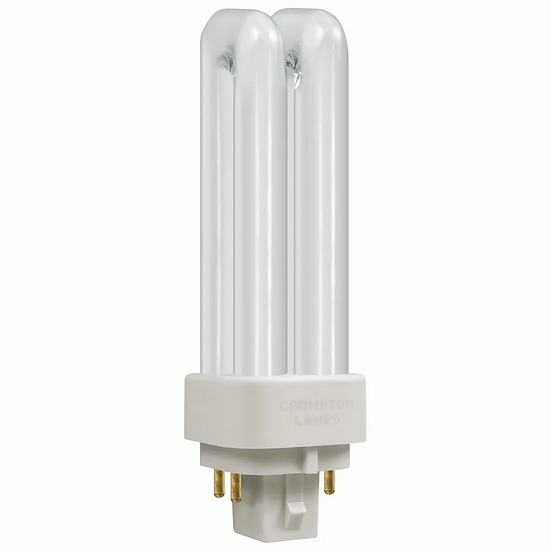 CFL Double PLC-E Turn DE Type • Dimmable • 10W • 3500K • G24q-1 4-Pin