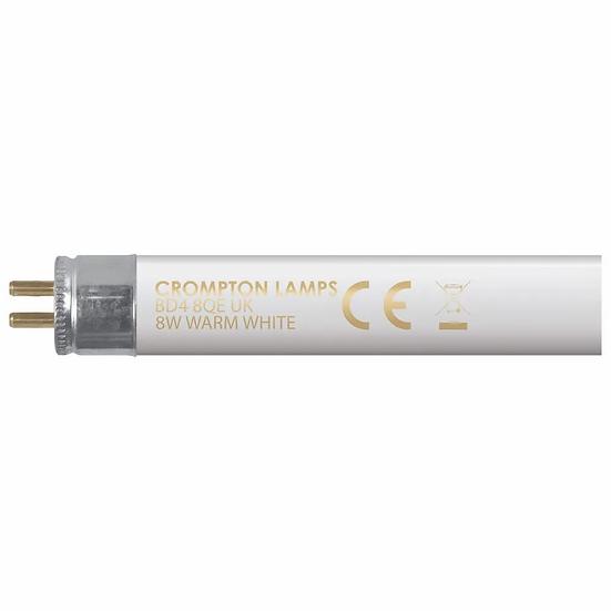 "Fluorescent T5 Halophosphate 12"" • 8W • 3000K • G5"