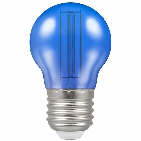 LED Filament Harlequin Round • 4.5W • Blue • ES-E27 13827