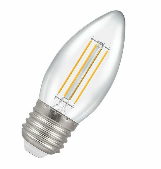 LED Candle Filament Clear • Dimmable • 5W • 2700K • ES-E27 7154