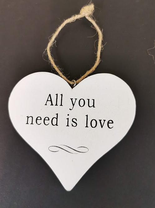 Shabby Chic All You Need Is Love