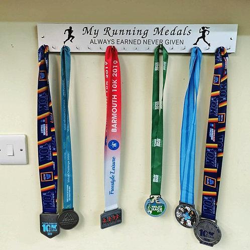 Medal display / Rack My Running Medals.