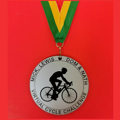 Bespoke medal 8cm any design