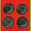 Thumbnail: Set of four Clywedog Dam Coasters