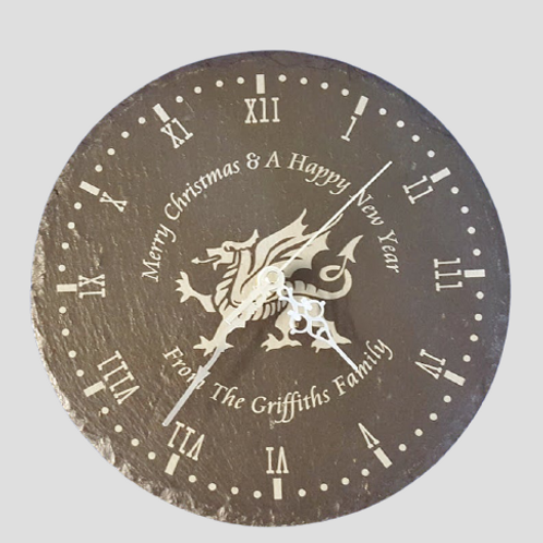 Welsh Slate Clock