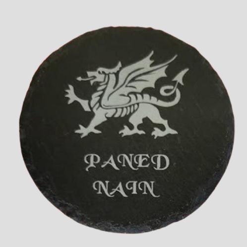 Paned Nain Coaster (Nans Tea in Welsh)