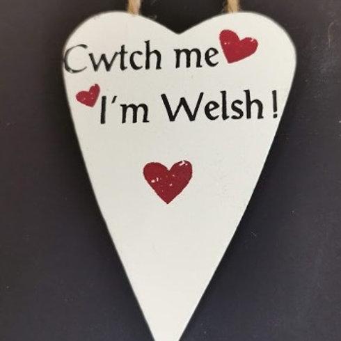Cwtch Me Im Welsh
