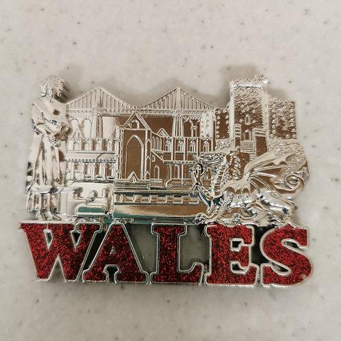 Wales Fridge Magnet