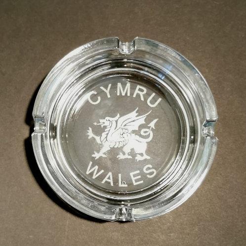 Cymru Wales Ashtray