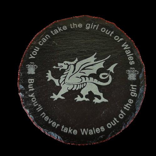 Welsh Slate Coaster.