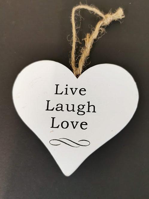Shabby Chic Live Laugh Love