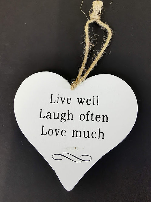 Shabby Chic Live Well Laugh Often ...