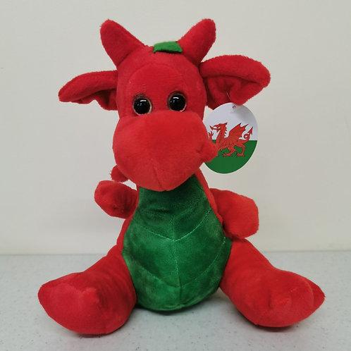 Plush Welsh Dragon Soft Toy
