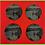 Thumbnail: Set of four Lake Vyrnwy Slate Coasters