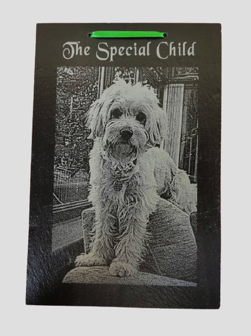 Slate Engraved With Your Photograph