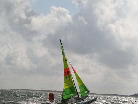 Starker Wind und perfekte Regatta (Bericht von Marcel Netz und Ole Hauschild)