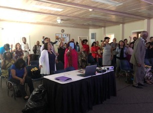 Pastor Larry's Ordination Service
