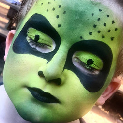 Alien Facepaint