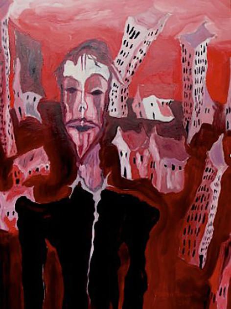 Matthieu Miegeville (Milka) - Kertone Production - Kertone Store - My Own Private Alaska (MOPA) - Yohan Hennequin - Tableau Peinture