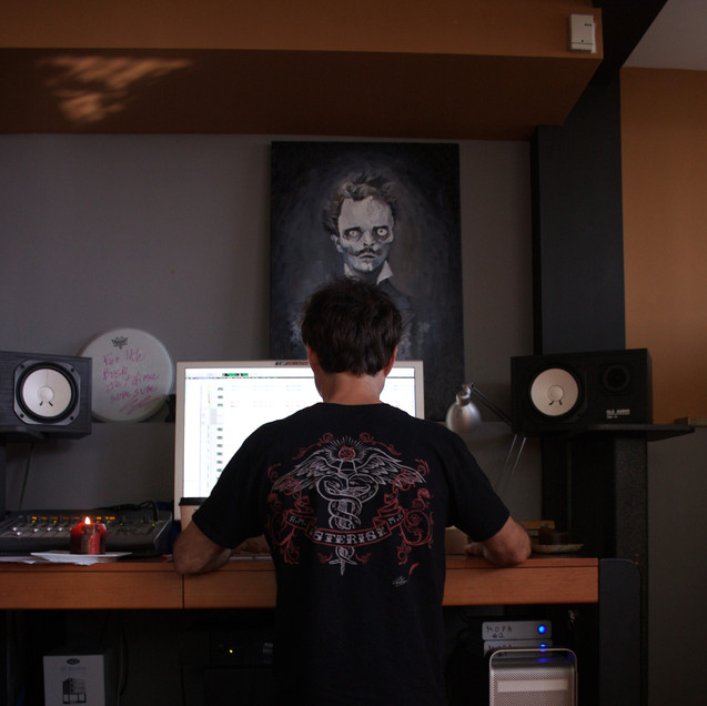 Kertone Production - Ross Robinson - I Am Recordings - My Own Private Alaska (MOPA) - Studio Los Angeles USA