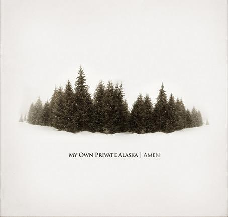 Kert (Alexis Arickx) - Kertone Production - Ross Robinson - I Am Recordings - My Own Private Alaska (MOPA) - Matthieu Miegeville (Milka) - Tristan Mocquet - Yohan Hennequin - Album AMEN - Poster