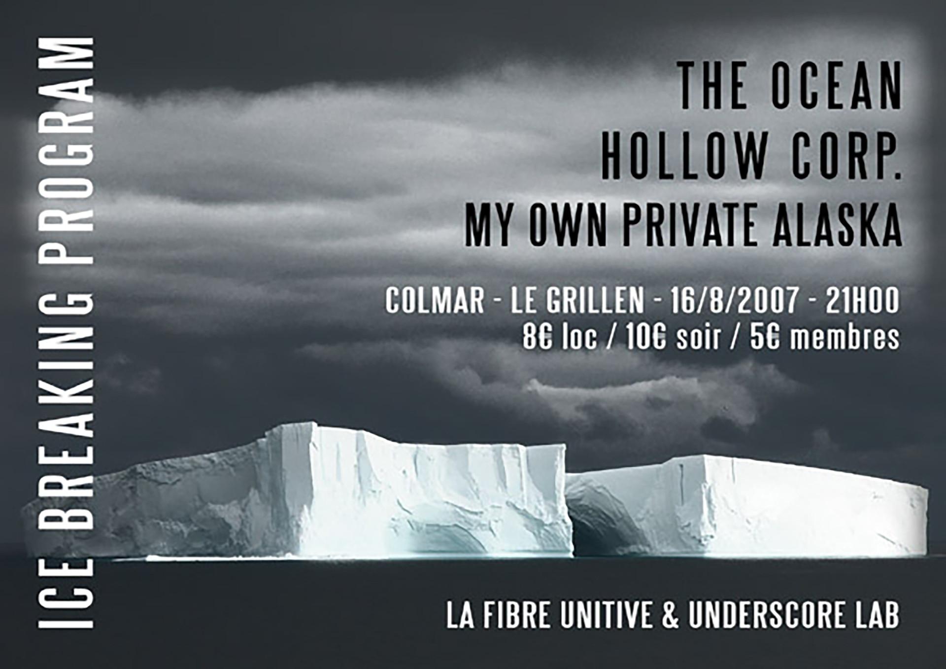 Kertone Production - Jerkov Musiques - My Own Private Alaska (MOPA) - Matthieu Miegeville (Milka), Tristan Mocquet, Yohan Hennequin - Affiche Concert