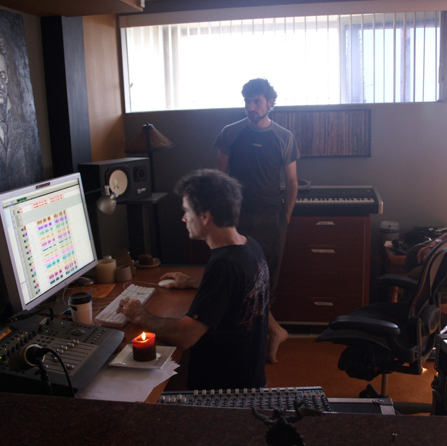 Kertone Production - Ross Robinson - I Am Recordings - My Own Private Alaska (MOPA) - Matthieu Miegeville (Milka), Tristan Mocquet - Studio Los Angeles USA