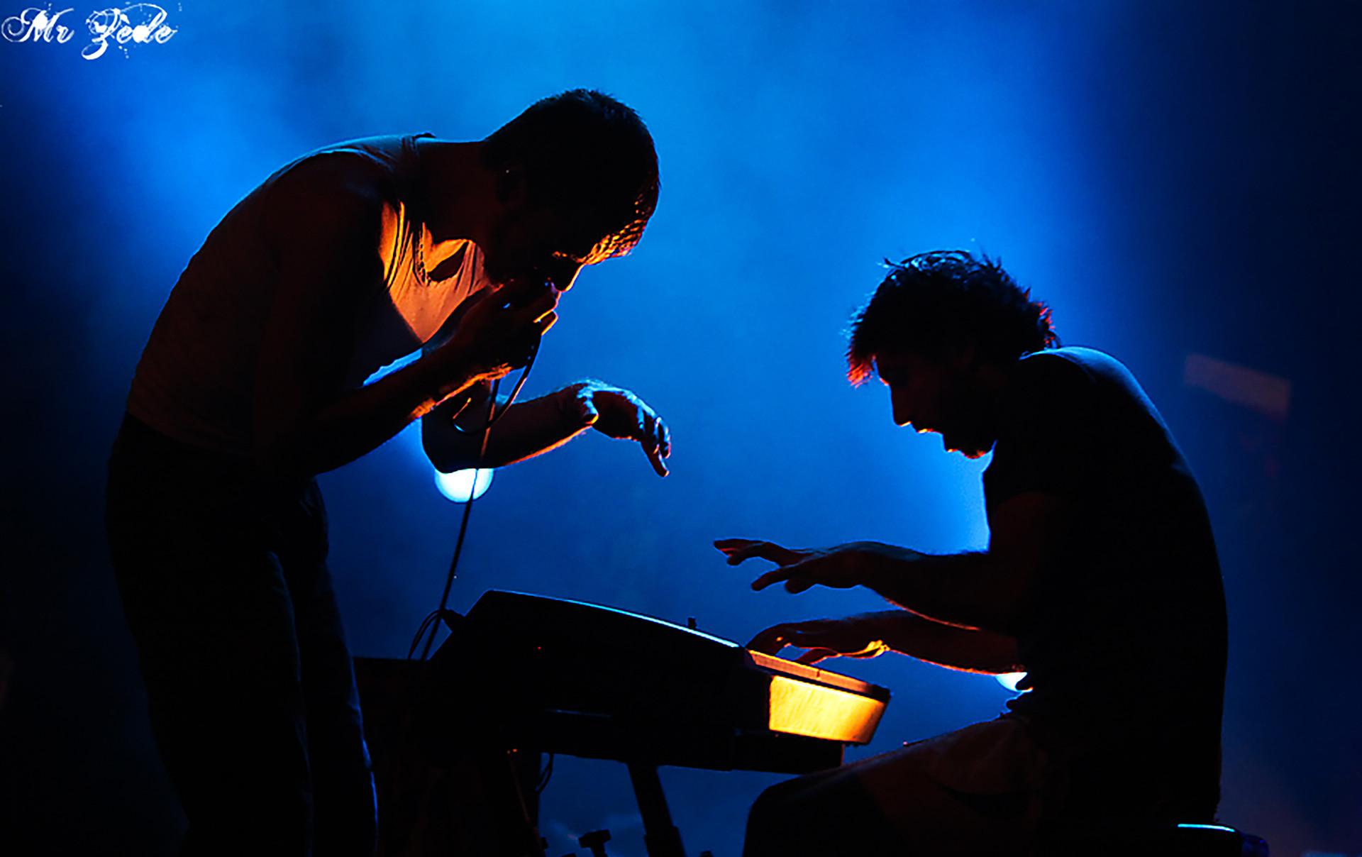 Kertone Production - Jerkov Musiques - My Own Private Alaska (MOPA) - Matthieu Miegeville (Milka) - Tristan Mocquet - Photo Live Concert