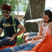 Kertone Production - My Own Private Alaska (MOPA) - Matthieu Miegeville (Milka) - Tristan Mocquet - Yohan Hennequin - Backstage Festival Eurockeennes de Belfort