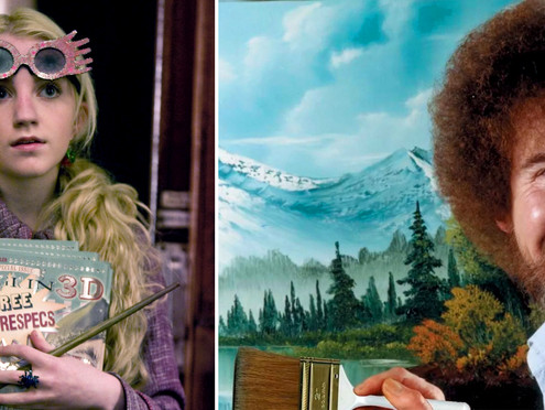 Life Lessons from Luna Lovegood and Bob Ross