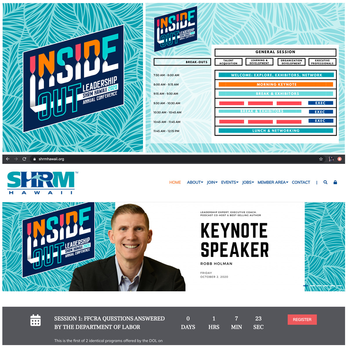 SHRM Virtual Conference Graphics and Dig