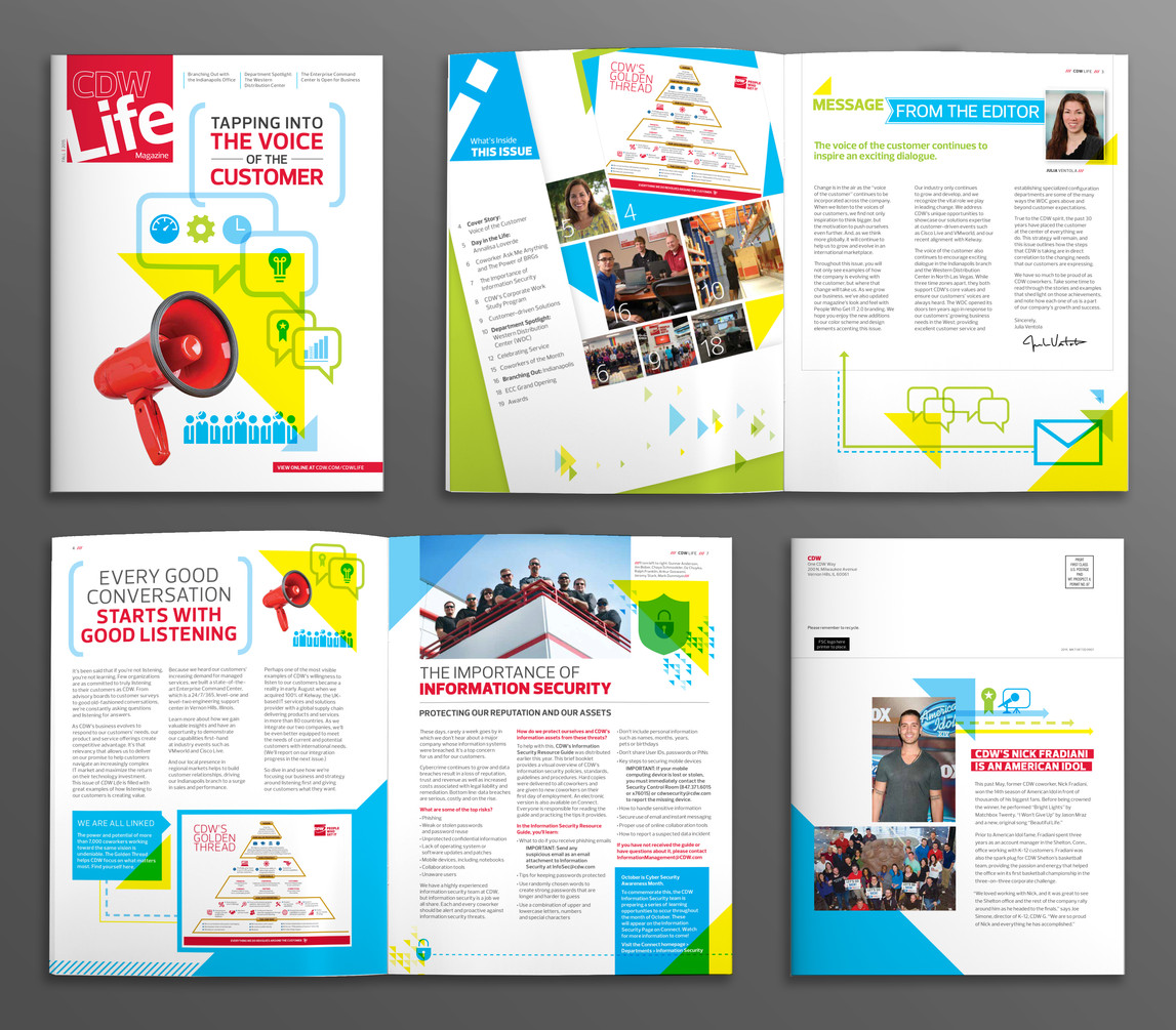 CDW Life - Internal Magazine