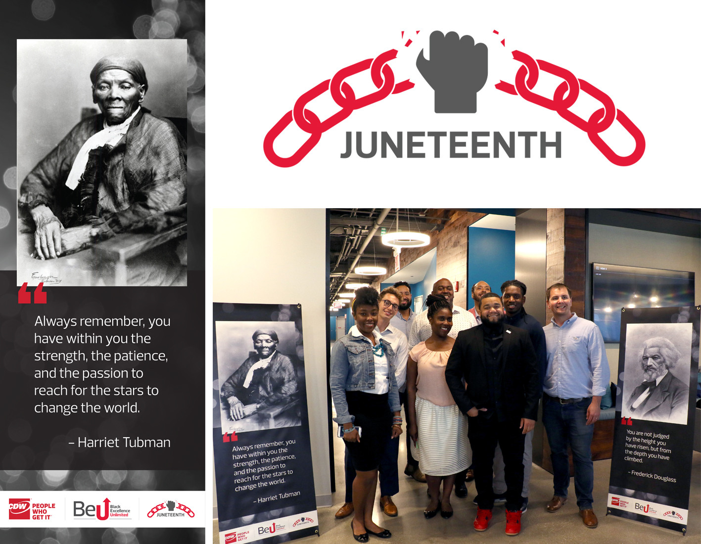 Juneteenth Graphics, Banner, Event Photo