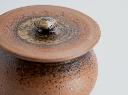 Lidded Belly Bowl (Small)