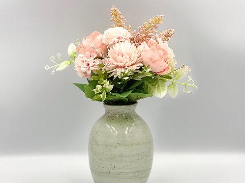 Mostly White Vase