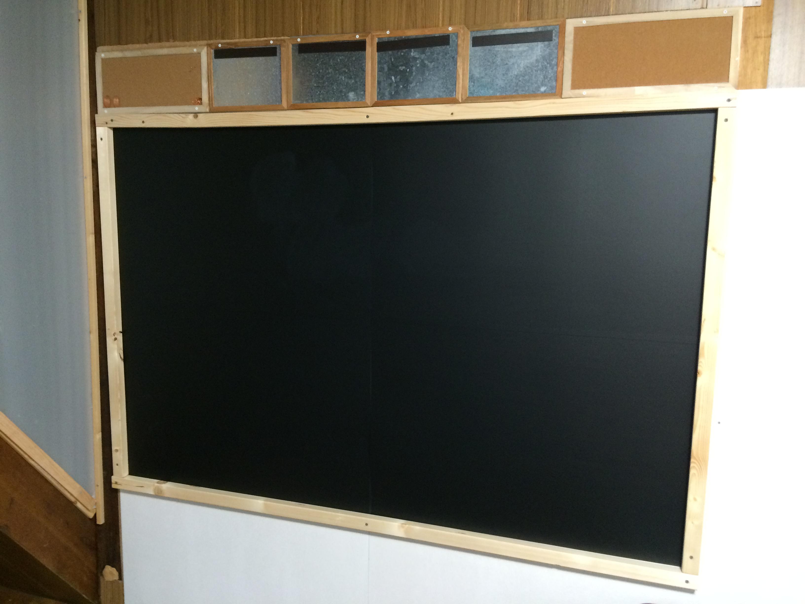 DIYの黒板♪