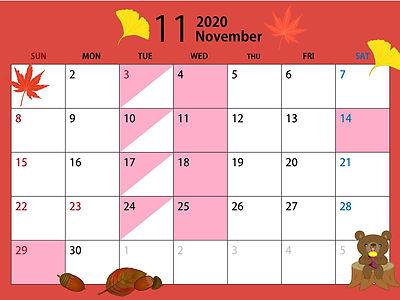 2020年11月 休業日.jpg