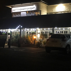 Food Review:  The Nottingham Knight - Ruddington Nottingham